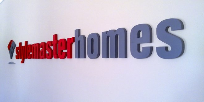 Stylemaster Homes Custom Sign