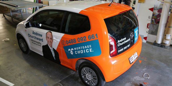 Mortgage Choice Brisbane Vehicle Signage